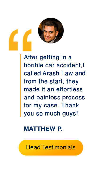 What cliets say about our accident injury attorney law firm in California.